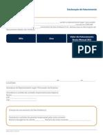 Formulário para Declaração de Faturamento