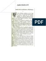 André Baillon, « Le  Dernier livre d'Octave Mirbeau »