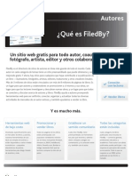 FiledBy Overview for Authors [Spanish]