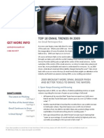 Email - Top 10 Trends of 2009