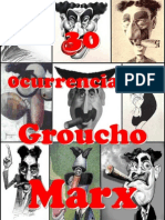 30 Ocurrencias de Groucho Marx