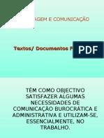 Textos formais