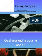 Le Marketing Du Sport