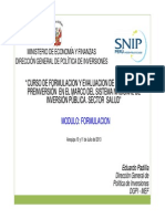 Capacitacion Modulo 2 - Formulacion - Arequipa