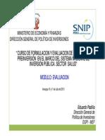 Capacitacion Modulo 3 -  Evaluaci¨®n - Arequipa