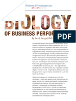 Biology of Business Performance White Paper