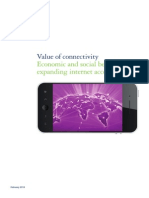 'Value of Connectivity