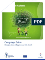 2013-14 Campaign Guide Manage Stress