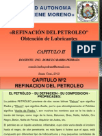 Cap 2 Refinacion Del Petroleo y Obtencion de Lubricante