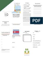 costa rica webquest travel document