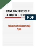 Tema 6. Construcción de la maqueta electrónica