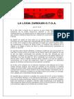 51601600 Ordo Templi Orientis Antiqua La Logia Zariguin o t o A