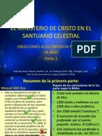 El Ministerio de Cristo en El Santuario Celestial-2 Juicio Inv.