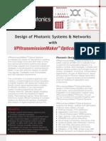 VPIphotonics DS TM-OpticalSystems
