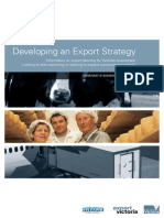 Developing Export Strategy