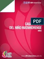 Casa hogar del niño Matamoroense - Niños DIF