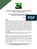 artigo Piacentini mecanismos petiçao individual