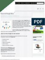 Curso de Google Docs, Aprende a Usar Este Servicio de Google
