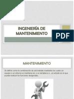INGENIER+ìA DE MANTENIMIENTO