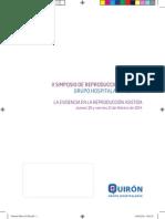 Programa general - II Simposio Reproducción Asistida Quirón