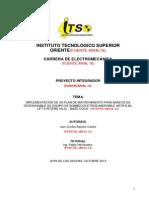 Esquema Del Proyecto Integrador 2013-2014
