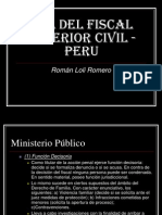 Rol Del Fiscal Superior Civil