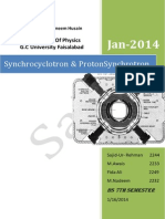 Synchro Cyclotron