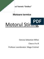 Motorul Stirling