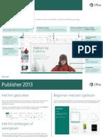 Handleiding Publisher 2013