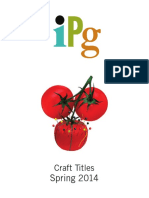 IPG Spring 2014 Craft Titles