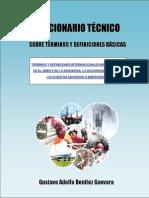 Diccionario o Glosario Tecnico Para Usar en Seguridad, Salud y Emergencias