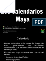 Los Calendarios Maya