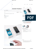 How to Open Ipod Nano