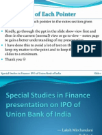 SSF - IPO on Unioun Bank of India