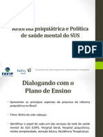 Reforma psiquiátrica e Política de saúde mental do SUS.pdf