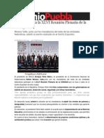 26-02-2014 Sexenio Puebla - EPN encabeza la XLVI Reunión Plenaria de la Conago.
