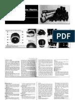 1978 Lens Instructions