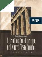 Casanova Roberts, H. - Introducción al griego del NT (Prolegómenos).pdf