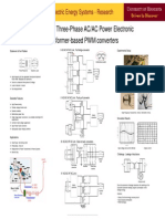 Research on Three-Phase ACAC Power Electronic Transformer-Based PWM Converters