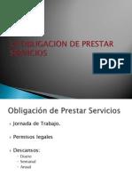 La Obligacion de Prestar Servicios 1