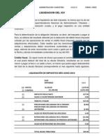 Liquidacion Del Igv