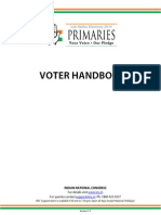 Indian National Congress Voter Handbook 290114