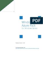 Windows Azure Pack White Paper