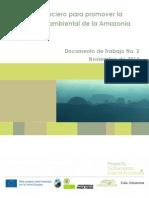 Enfoque Financiero para la gobernanza ambiental de la Amazonia