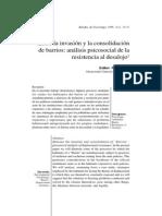 Consolidacion de Barrios en Chile