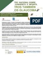 Programa I Encuentro Nacional Glaucoma Congénito e Infantil
