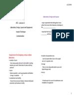 STUD COPY ATC Lecture 3 Lab Design and Contamination