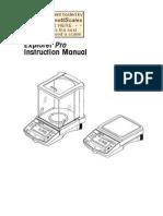 Explorer Pro Precision Manual