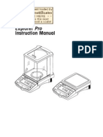 Explorer Pro Precision Manual