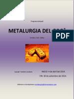 Programa Integral Metalurgia Del Oro - Virtual 2014